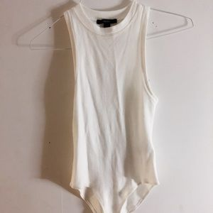White Tank Bodysuit